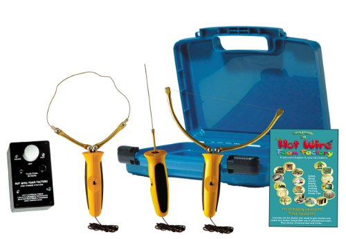 Hot Wire Foam Factory Pro 3-in-1 Sculpting Tool, 4 Inch Hot Knife & Freehand Router Kit