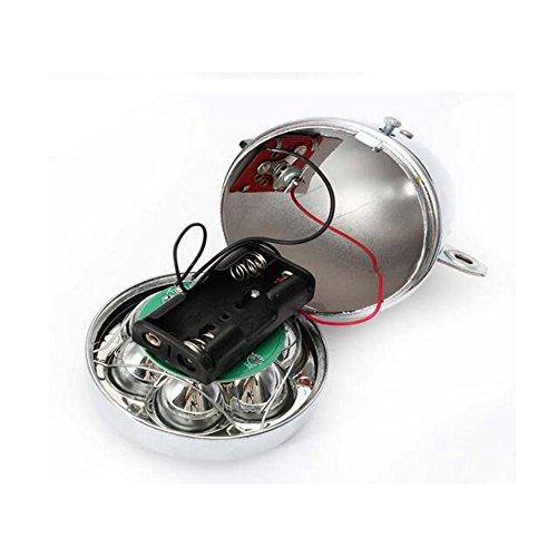Zimo®Vintage Retro Bicycle Bike Front Light Lamp 7 LED Fixie Headlight with Bracket 3
