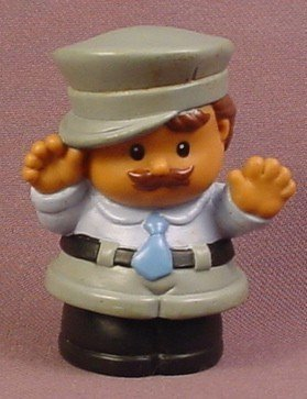 Fisher Price Little People Policeman Bus Driver Taxi Driver Truck Driver, 1998 (Fisher Price Ice Cream Truck compare prices)