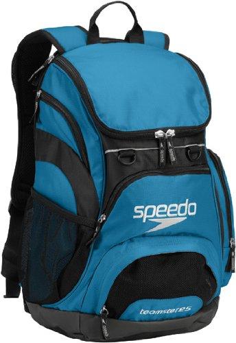Speedo Teamster Backpack, Imperial Blue/Black, 35-Liter