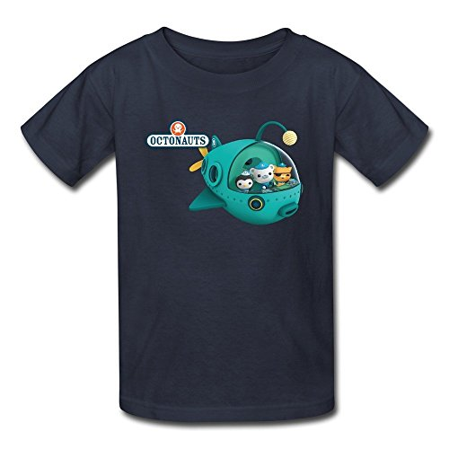 Flycro Kid's Cool The Octonauts T-shirts Size XL Navy (Pearls Before Swine Merchandise compare prices)