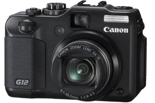 【Amazonの商品情報へ】Canon デジタルカメラ PowerShot G12 PSG12 1000万画素 光学5倍ズーム 広角28mm 2.8型バリアングル液晶