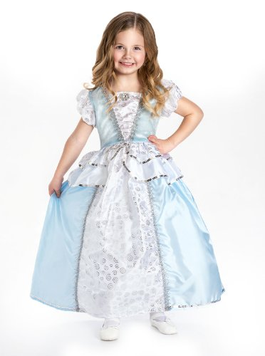 Cinderella Princess Complete Dress Set - Includes all Accessories, Small