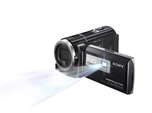 411tzahz6WL Sony HDR CX260V High Definition Handycam 8.9 MP Camcorder with 30x Optical Zoom and 16 GB Embedded Memory (Black) (2012 Model)