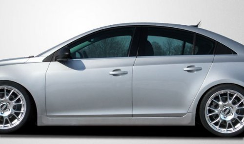 2011-2013 Chevrolet Cruze Couture RS Look Side Skirts Rocker Panels - 2 Piece (Body Kit Chevy Cruze compare prices)