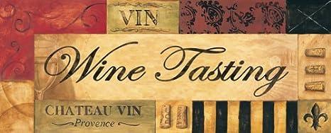 Vintage Wine Tasting Sign