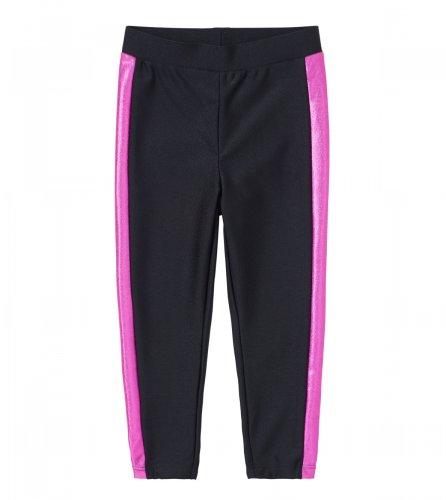 Ruum Little Girls' Lg Tux Legging Electric Pink 2Y
