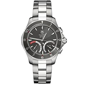 Tag Heuer Men's Aquaracer Calibre S Regatta Collection Chronograph Stainless Steel Watch #CAF7111.BA0803