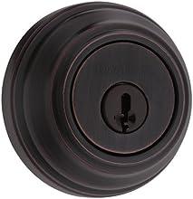 Kwikset 980 Single Cylinder Deadbolt featuring SmartKey® in Venetian Bronze