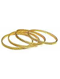 Shingar Jewellery Ksvk Jewels Antique Gold Plated Bangles Set For Women (9281-m-c-p)