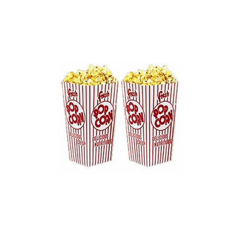 Great Northern Popcorn 50 Movie Theater Popcorn Boxes .79 Ounce Open Top (Popcorn Buckets Great Northern compare prices)
