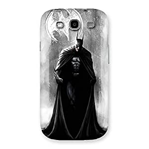 Cute White Moon Knight Multicolor Back Case Cover for Galaxy S3 Neo