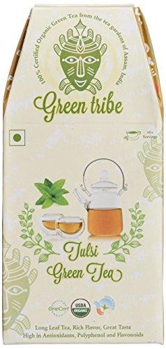 Green Tribe Organic Tulsi Green Tea, 100g