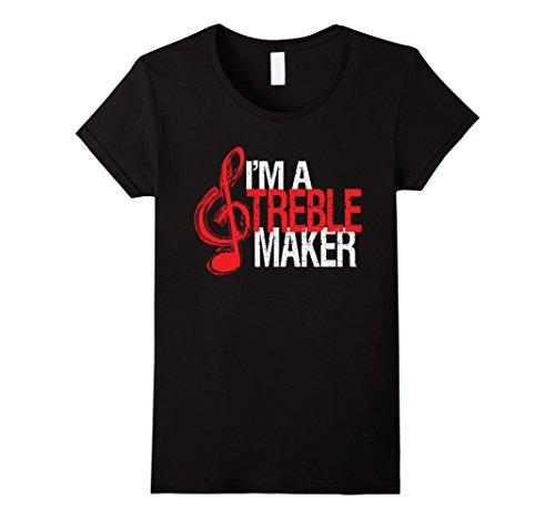 Women's SOF: I'm A Treble maker T-Shirt Large Black (Treble Maker compare prices)
