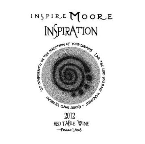 """2012 Inspire Moore """"Inspiration"""" Noiret 750 Ml"""