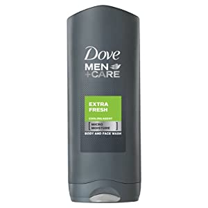 Dove for Men Extra Fresh Body and Face Wash - 250 ml
