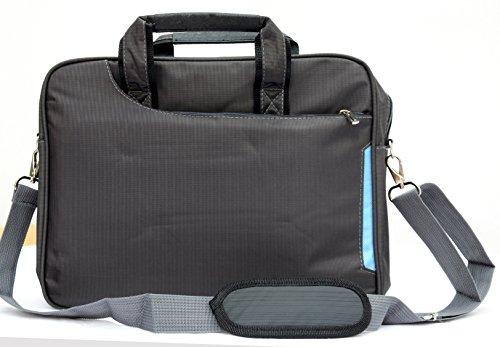 "Laptop Notebook Borsa a spalla borsa messenger Custodia leggera per Apple Macbook 13""13.3da viaggio scuola business-grey"