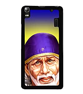 Sai Baba Sai Ram 2D Hard Polycarbonate Designer Back Case Cover for Lenovo K3 Note :: Lenovo A7000 Turbo