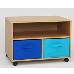 4D Concepts Boy's TV Cart, Beech