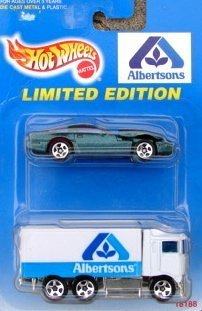 "Hot Wheels Limited Edition ""Albertsons"" Vehicle Set - 1"