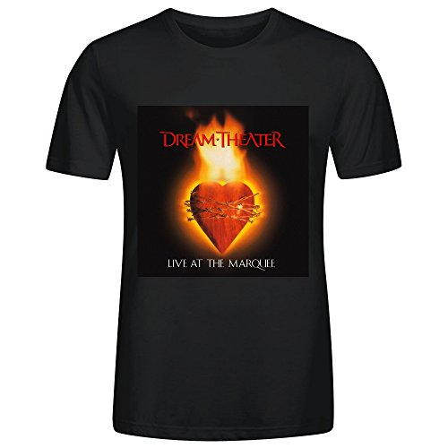 Dream Theater Live At The Marquee Adult Men T Shirts Black (Ninja Turtle Bicycle Jersey compare prices)