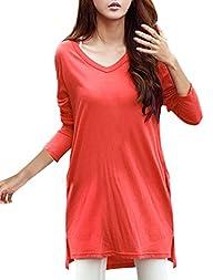 Allegra K Woman Long Sleeves Tunic w…