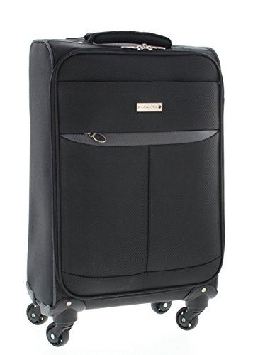 Pianeta Trolley baule valigia, trolley da viaggio bagaglio per il viaggio (M, blu) (M, blu, grigio) (Black)