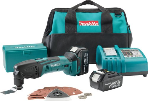 Makita LXMT025 18-Volt LXT Lithium-Ion Cordless Multi Tool Kit
