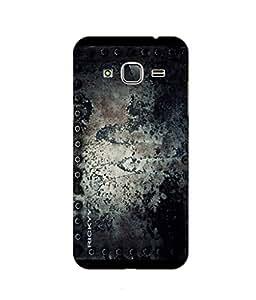 RICKYY _J3_1308 Printed Matte designer sole design case for Samsung J3