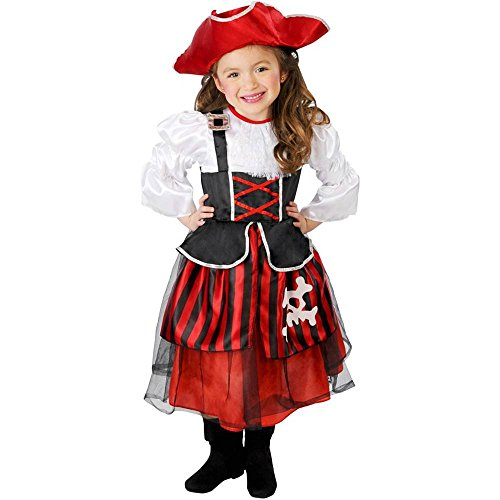 Lil Buccaneer Pirate Girl Toddler Costume - Toddler