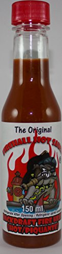 FireHall Hot Sauce Backdraft Fire Heat (Hot) (Backdraft Hot Sauce compare prices)