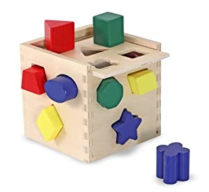 Melissa & Doug Shape Sorting Cube from Melissa and Doug