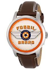Fossil Analog Multi-Color Dial Men's Watch - FS4896