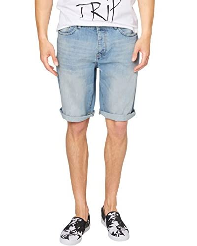 s.Oliver Denim Short Azul Denim