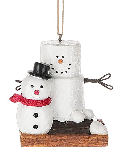 S'mores with Snowman Ornament