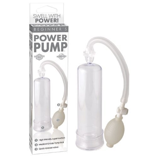 Review Of Pipedream Products, Inc. Beginner's Power Pump, Clear