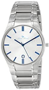 Lucien Piccard Men's LP-10607-23S Davos Silver Dial Stainless Steel Watch
