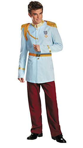 Disguise Mens Disney Prestige Prince Charming Theme Party Fancy Costume