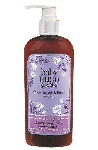 Baby Hugo Naturals Foaming Milk Bath - Chamomile & Vanilla, 8-Ounce Units (Pack of 2) - 1