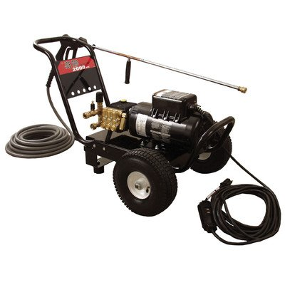 Mi-T-M Jp-1002-3Me1 Jp Series Cold Water Electric Direct Drive, 1.5 Hp Motor, 120V, 15A, 1000 Psi Pressure Washer