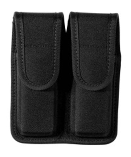 Read About Bianchi Patroltek 8002 Hidden Snap Stagerred Double Magazine Pouch (Size 2)