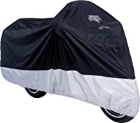 Nelson-Rigg MC-904-04-XL Deluxe All-Season Motorcycle Cover (Black, X-Large) by Nelson-Rigg