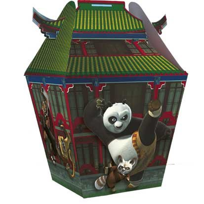 Kung Fu Panda Treat Box 4ct - 1