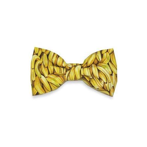 Amazon.com: Swagger & Swoon Bananas Bow Tie