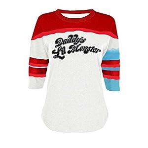 New Suicide Squad Harley Quinn Costume T-shirt (Medium)