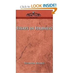 Essays in Idleness and Hojoki