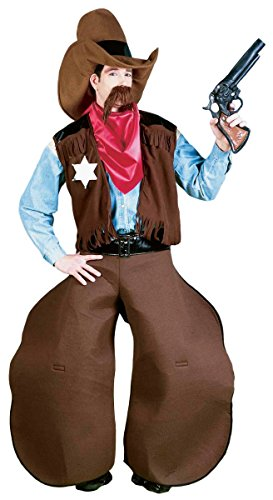 Old Cowhand Funny Cowboy Costume