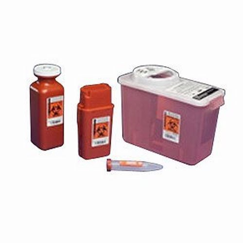 Transportable Sharps Container 1 Quart (4 Single [Each-1]) (Kendall Sharps Shuttle compare prices)