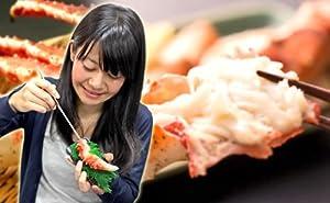 [SoftBank/au iPhone 4S/4専用]食品サンプルカバー 北国からの贈り物監修 カニカバー【タラバガニ/蟹/かに/鱈場】