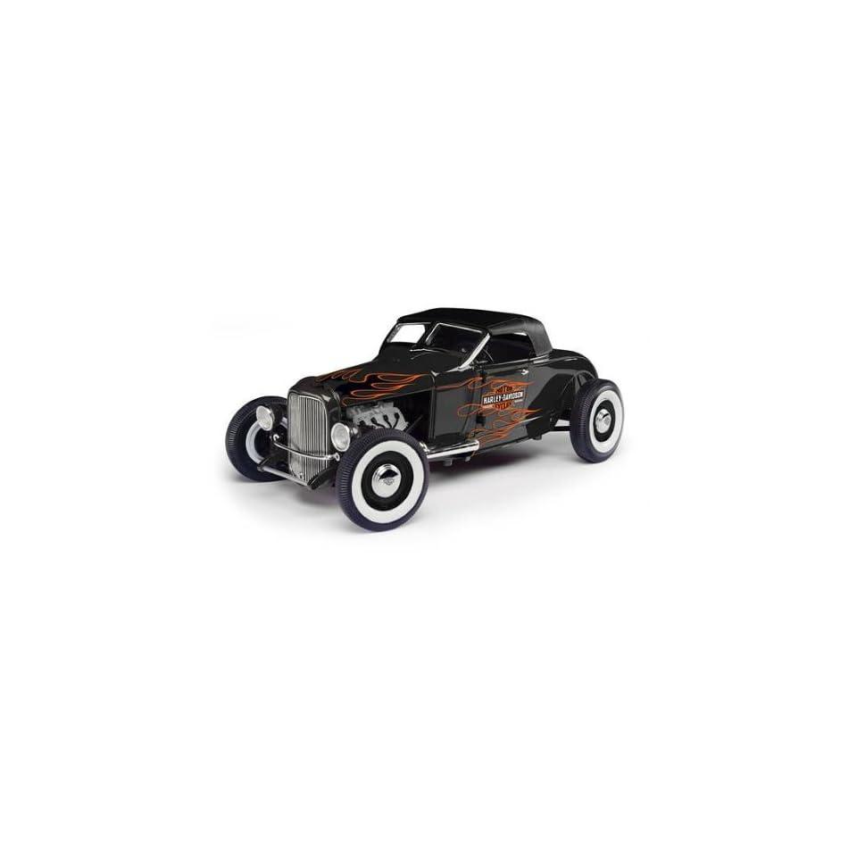 1929 Ford Hot Rod Harley Davidson 1/18 Diecast Car Model Highway 61